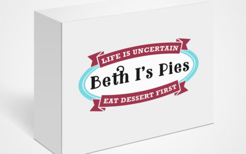 Beth I's Pies Logo Design